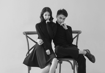 纯色简约韩式系列婚纱摄影