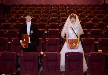 原创高定个性主题婚纱摄影
