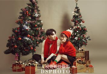 秋冬暖心 < 圣诞树 > 主题婚纱摄影