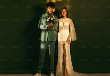 原创《光影之间》韩式主题婚纱照
