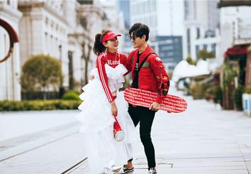《城市街头》潮拍系列婚纱摄影