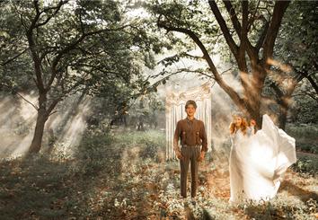 超仙《小森林》系列婚纱摄影