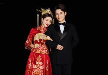 经典《囍嫁》中式系列婚纱照